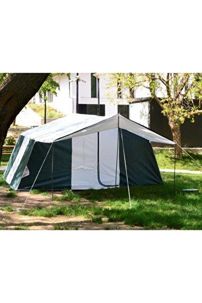 Aile Tipi 2 Oda 1 Salon 8-10 Kişilik Kamp Çadırı Kırmızı