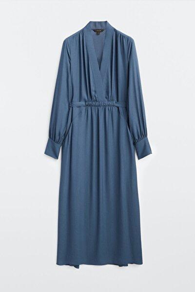 Kadın Uzun Dökümlü Elbise 06644735