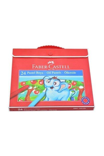 Plastik Çantalı Tutuculu Pastel Boya 24 Renk