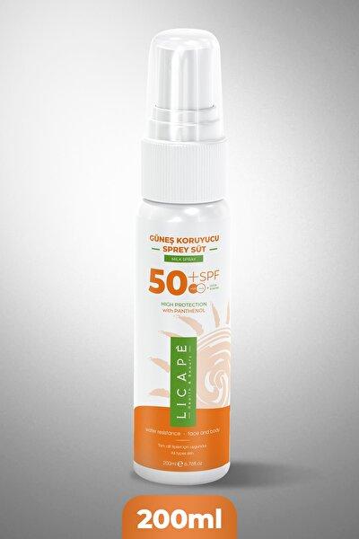 Güneş Koruyucu Sprey Süt 50+ Koruma 200ml