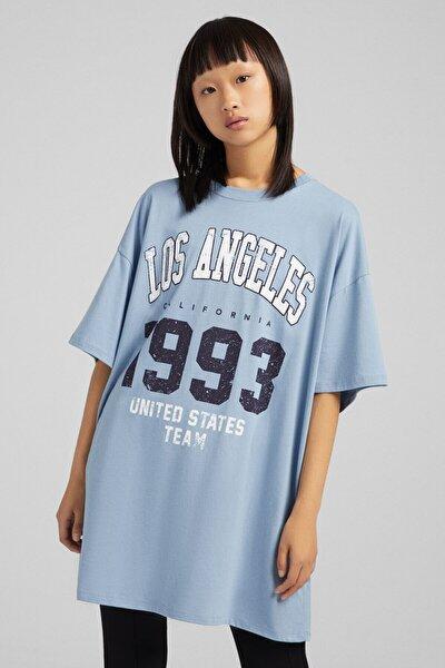 Kısa Kollu Kolej T-shirt