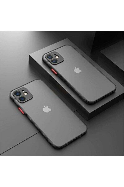 Iphone 11 Kamera Korumalı Business Darbe Emici Dayanıklı Siyah Kılıf