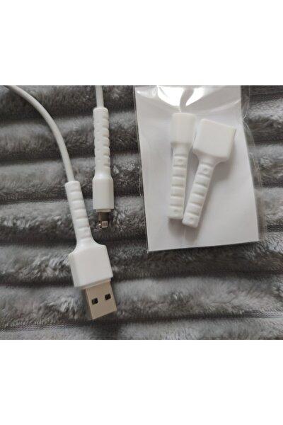 Kablo Koruyucu Çift Taraflı Apple Uyumlu