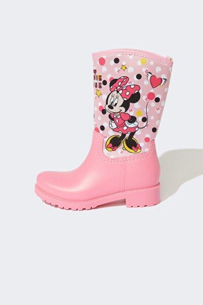 Kız Çocuk Minnie Mouse Lisanslı Yağmur Çizmesi V5849A621AU