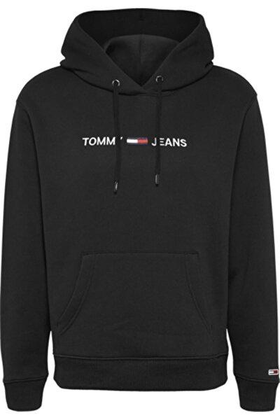 Kadın Siyah Sweatshirt Tjw Lınear Logo Hoodıe DW0DW08972