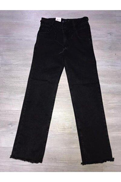 Kız Çocuk Siyah Kot Pantolon