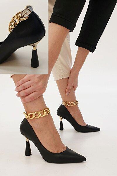 Kadın Nazita Topuklu Ayakkabısiyah