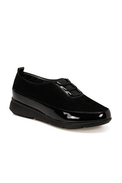 161317.RZ Siyah Kadın Comfort Ayakkabı 100548299