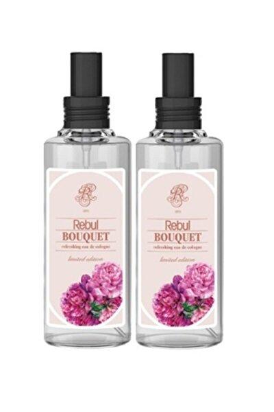 2 Adet Bouquet Kolonya 100 Ml Spreyli Cam Şişe Buket Şakayık 100 Ml X2