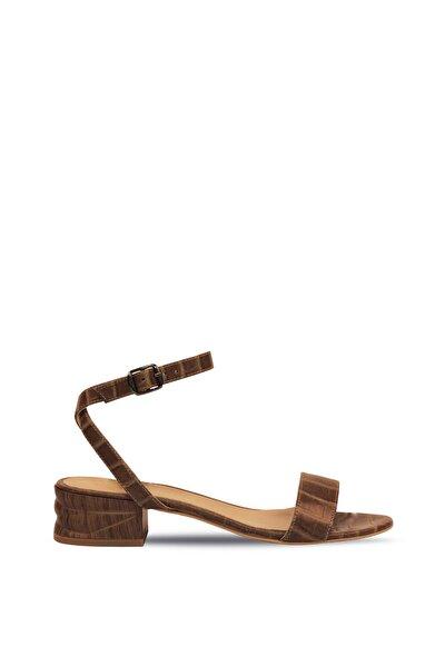 Vizon Kadın Düz Sandalet