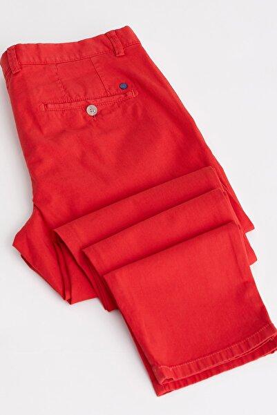 A.Kırmızı Erkek Pantolon - Slim Fit