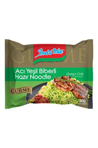 Indomie Gurme Acı Yeşil Biberli Hazır Noodle 80 G