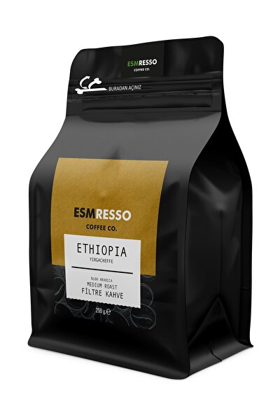 Ethiopia Filtre Kahve Öğütülmüş Filtre Kahve 250 G