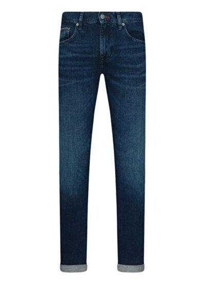 Tommy Hılfıger Slim Bleeker Str, Bridger Indigo Denim Jeans/mw0mw14842