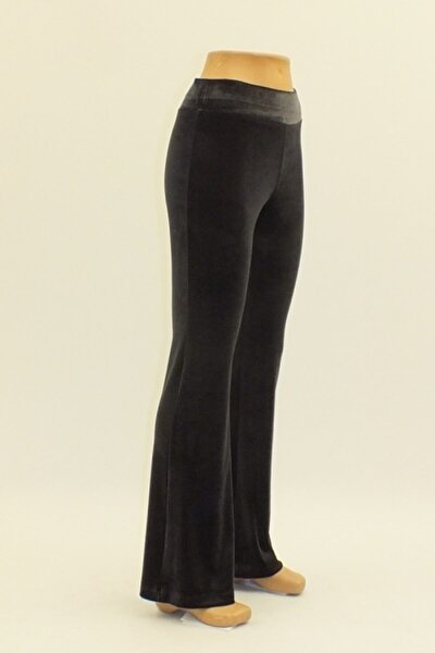 Kadın Füme Kadife Pantolon
