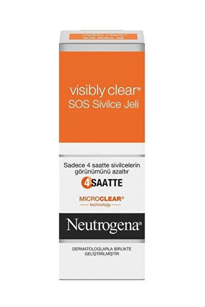 Visibly Clear SOS Hızlı Etkili Akne Jeli 15 ml