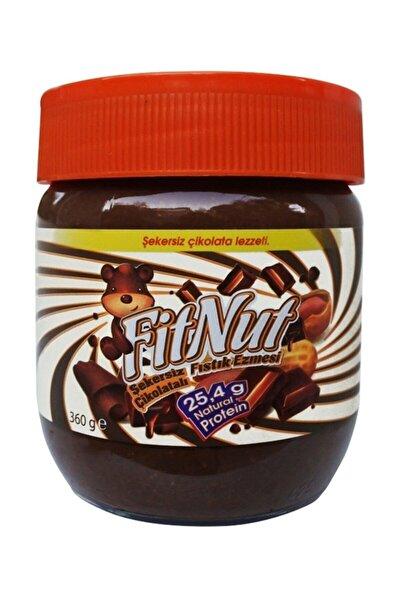 Şekersiz Çikolatalı Fıstık Ezmesi 360 Gr