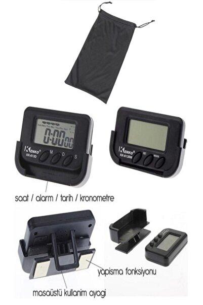 Mastercar Mini Dijital Saat Tarih Kronometre Göstergesi Çantalı