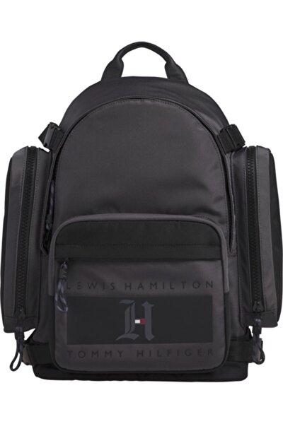 Erkek Gri Lh Nylon Backpack Sırt Çantası