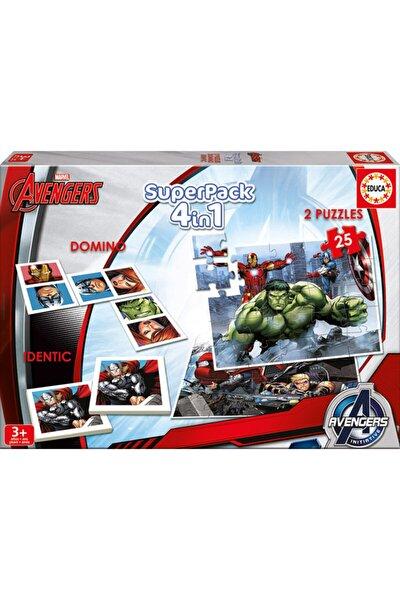 Avenger Domino + Hafıza Oyunu + Puzzle