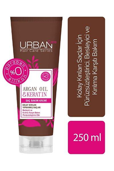 Argan Yağı&keratin Içeren, Besleyici& Kırılma Karşıtı Saç Kremi 250 ml