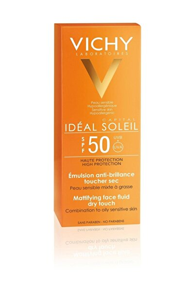 Ideal Soleil Dry Touch Spf50+ Güneş Koruyucu 50 Ml