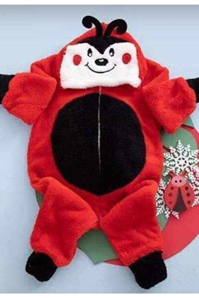 Kız Bebek Kırmızı Welsoft Tulum