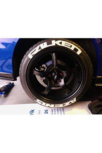 Lastik Yazısı Azenıs 1.sınıf Kalite Solmaz Araç Motorsiklet Lastik Stiker Etiket
