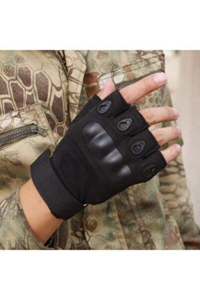 Askeri Kesik Parmak Kemik Eldiven Operasyon Eldiveni Siyah