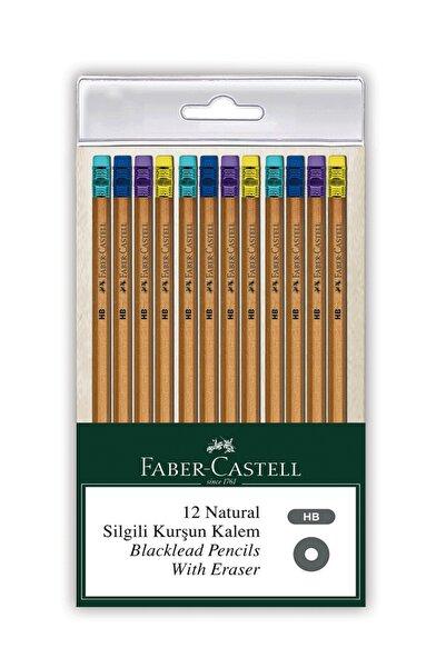 Faber Natural Silgili Kurşun Kalem 12li