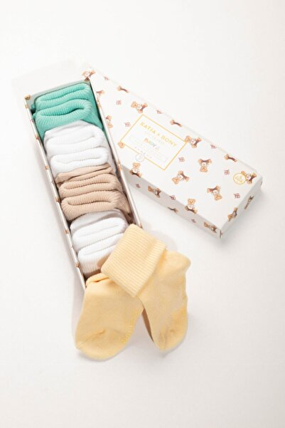 Bebek Renkli Bamboo 5'li  Çorap
