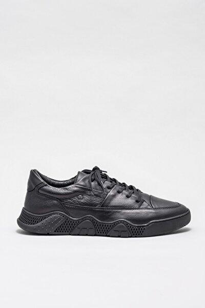 Erkek Akash-1 Sıyah Casual Ayakkabı 20KTN2522-1