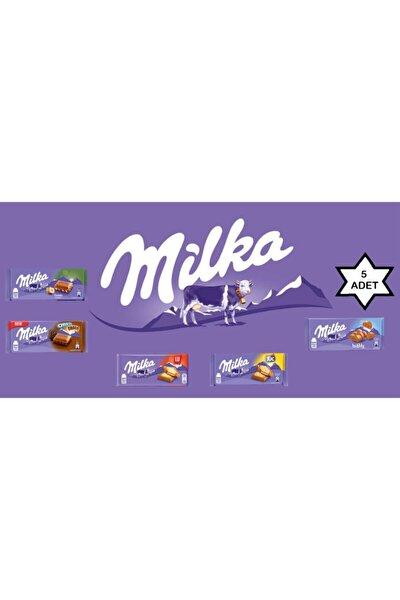 Lezzet Paketi - 5 Adet Tablet Çikolata