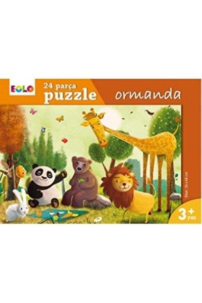 24 Parça Ormanda Yer Puzzle   3 Yaş  