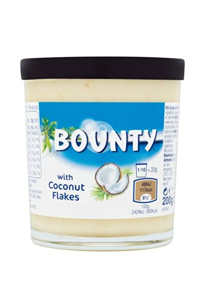 With Coconut Flakes Sürülebilir Hindistan Cevizi Parçacıklı 200 gr
