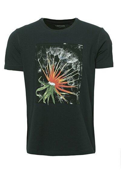 Felıta Modern Grafik T- Shirt Yeşil
