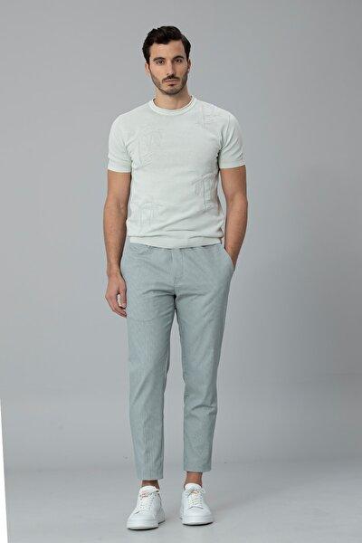 Klosi Spor Chino Pantolon Tailored Fit Yeşil