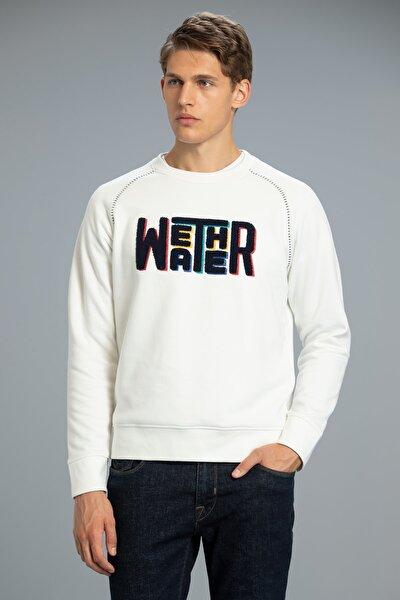 Mounth Sweatshirt Kırık Beyaz