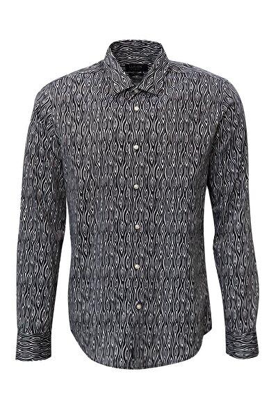 Puetro Smart Gömlek Slim Fit Siyah