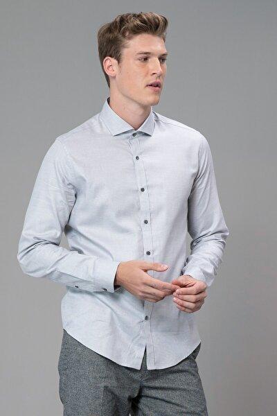 Cank Smart Gömlek Comfort Slim Fit Gri