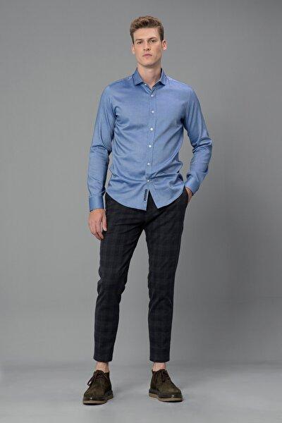 Bled Smart Gömlek Slim Fit Saks
