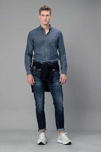 Annecy Spor Gömlek Comfort Slim Fit İndigo