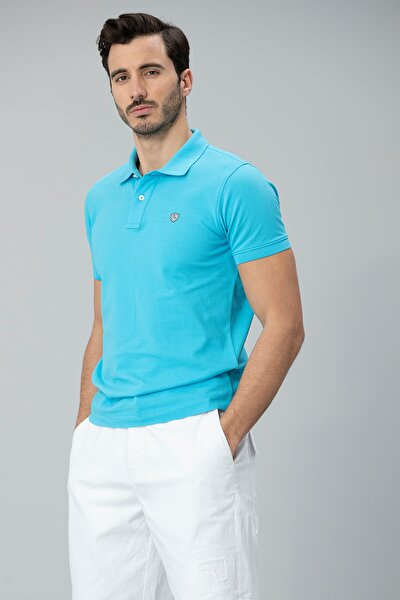 Laon Spor Polo T- Shirt Turkuaz