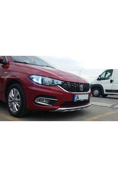Fiat Egea Çift Çıkışlı Ön Arka Difüzör