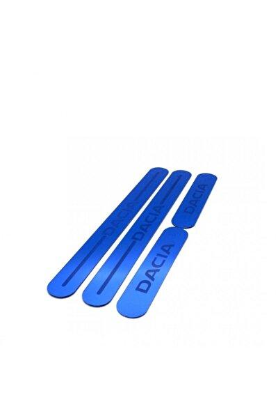 Dacia Pleksi Üniversal Renkli Kapı Eşiği Mavi