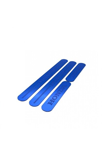 Honda Pleksi Üniversal Renkli Kapı Eşiği Mavi