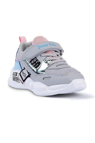 Kız Çocuk Gri Renkli Spor Ayakkabı 24936