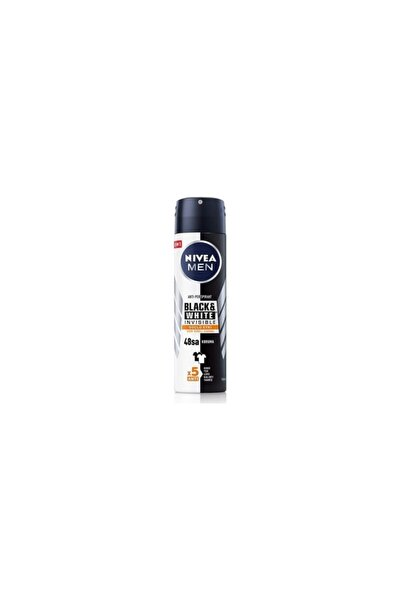 Men Deodorant Black & White Invisible Güçlü Etki 48h 150ml