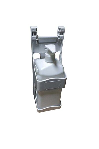 Dezenfektan Dispenseri Kol Ile Kullanım Ve 1000 Ml Boş Bidon Kapasite