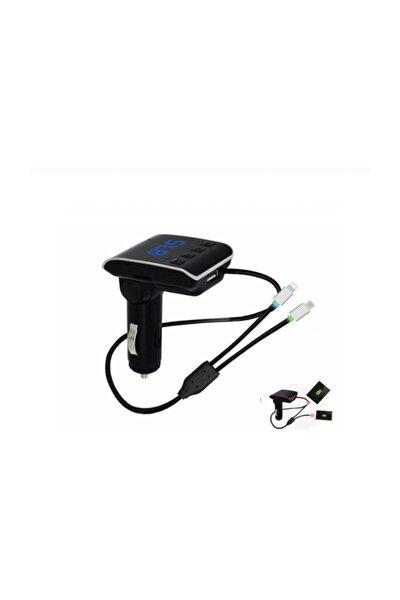 C-605 Bluetooth Usb Sd Kart Girişli Hızlı Şarj Özellikli Iphone Ve Samsung Şarj Kablolu